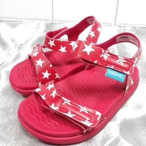 Native size C7 red sandles